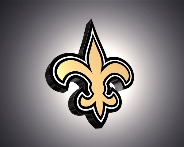 saints 3d logo