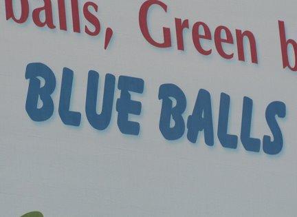 'Blue Balls' Billboard is Making People Look Twice