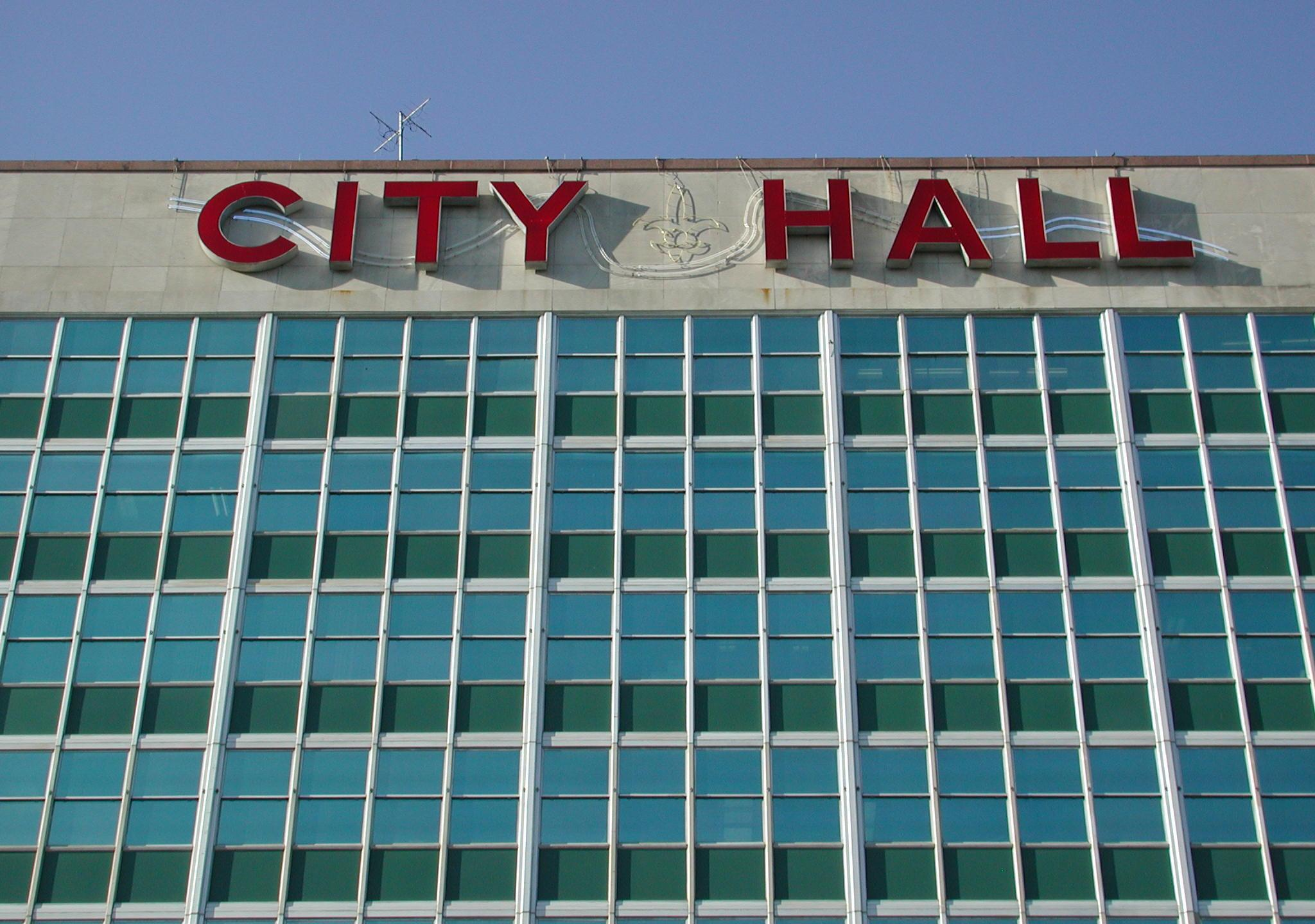 City_Hall_New_orleans_Letters