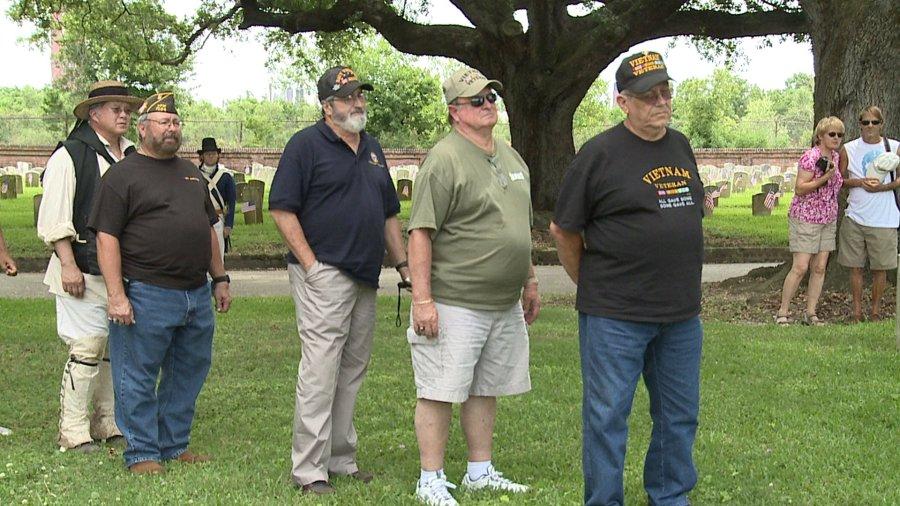 living veterans honor deceased