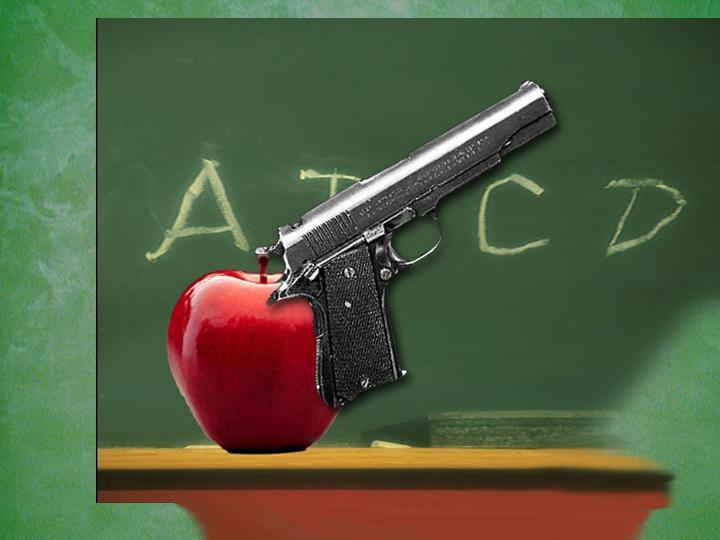 Gun School Classroom