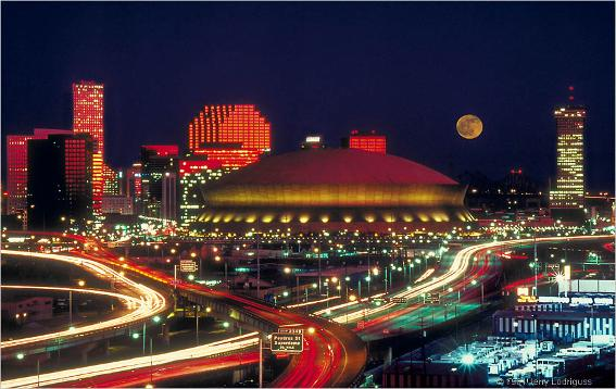 New+orleans+skyline+night
