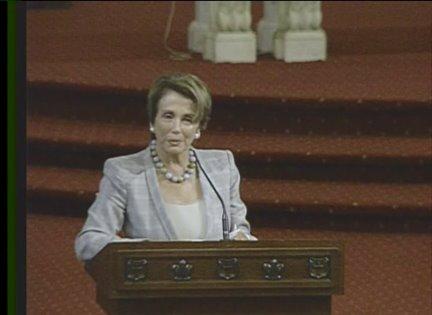 Rep. Nancy Pelosi, of California