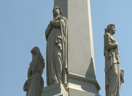 A Story of Love & Revenge: Metairie Cemetery's Tallest Monument Snubs Rich Snobs