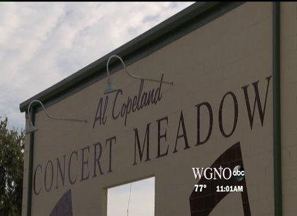 Al Copeland's stage opens at Lafreniere Park