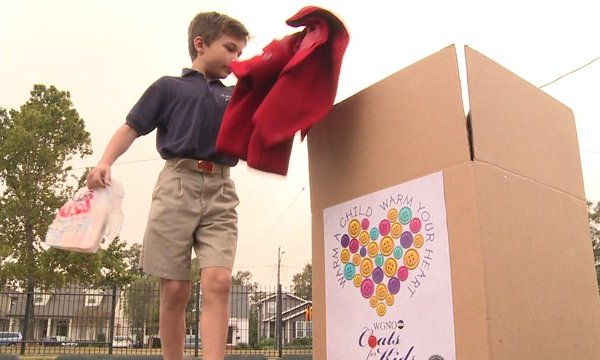 Coats for Kids at Catherine of Siena School