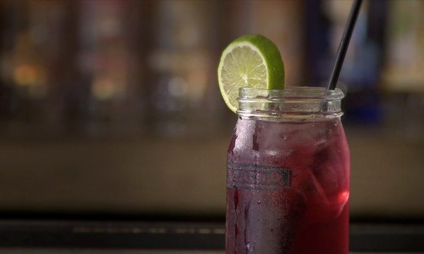 Drink of the Day: Barcadia's Mardi Gras Purple Punch