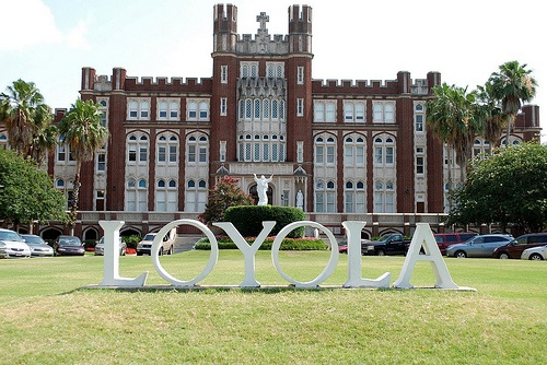 Loyola Sign