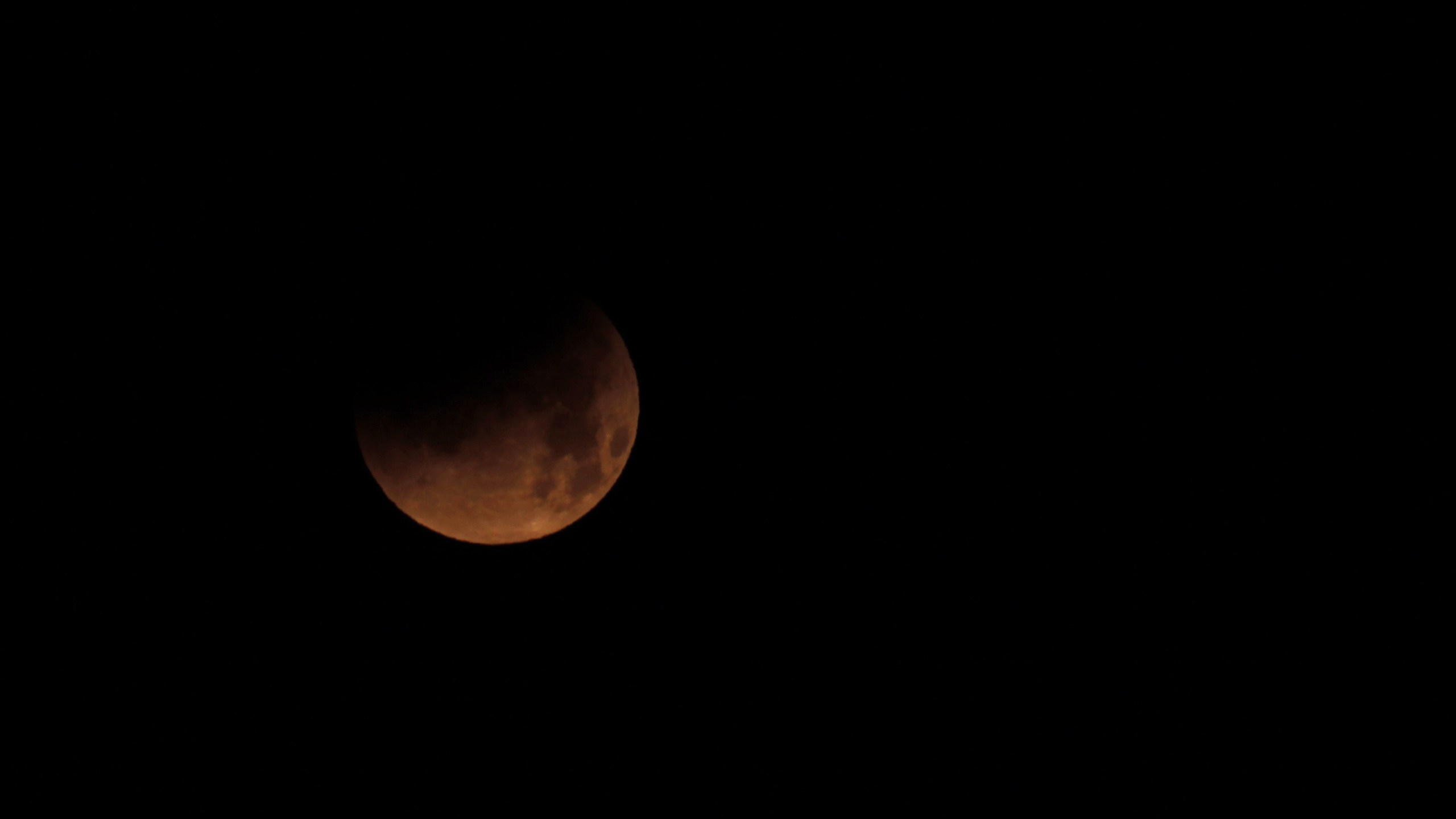 SPAIN-ASTRONOMY-ECLIPSE-MOON