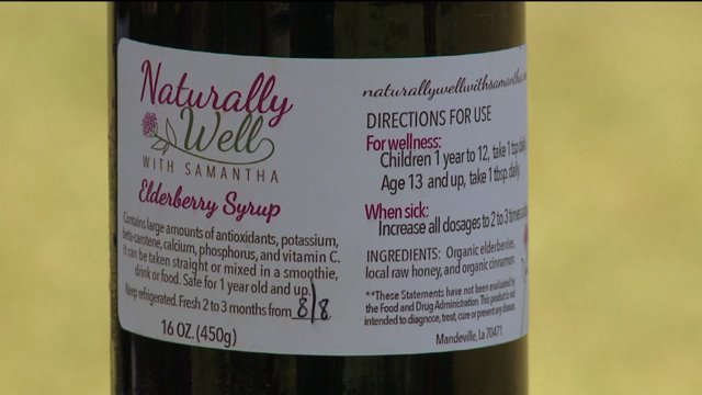 Feel Better Faster:  Mom Makes Elderberry Syrup To Help Heal Kids