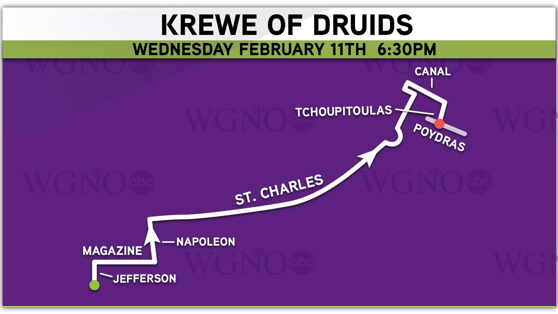 Krewe Of Druids 2015