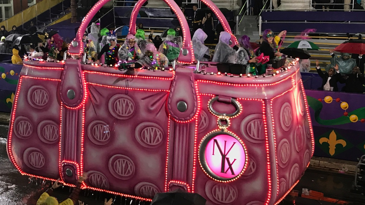 Nyx will ride Sunday in Metairie's Krewe of Pandora