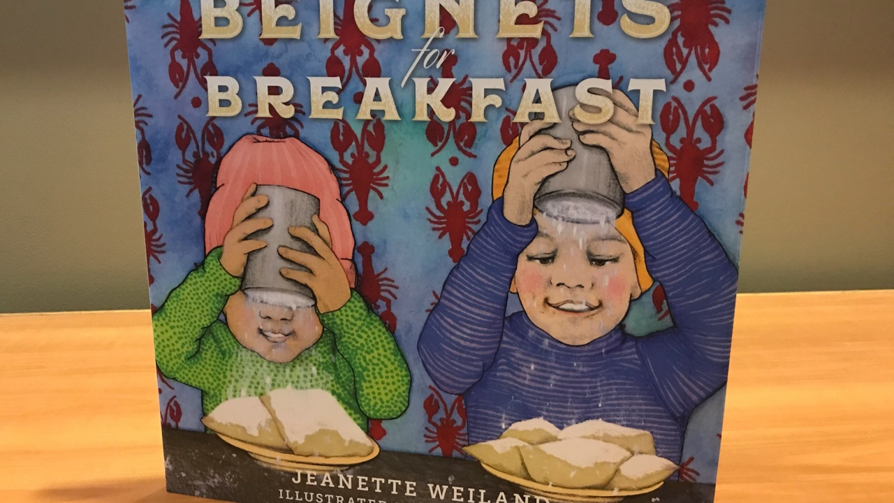 'Beignets for Breakfast': A colorful new book for kids to ...