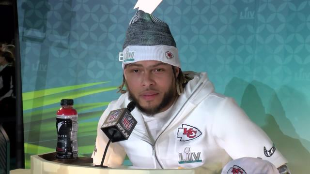 Big Game Media Day: Tyrann Mathieu's thoughts on Kobe Bryant, Richard Sherman, Tom Brady, and more