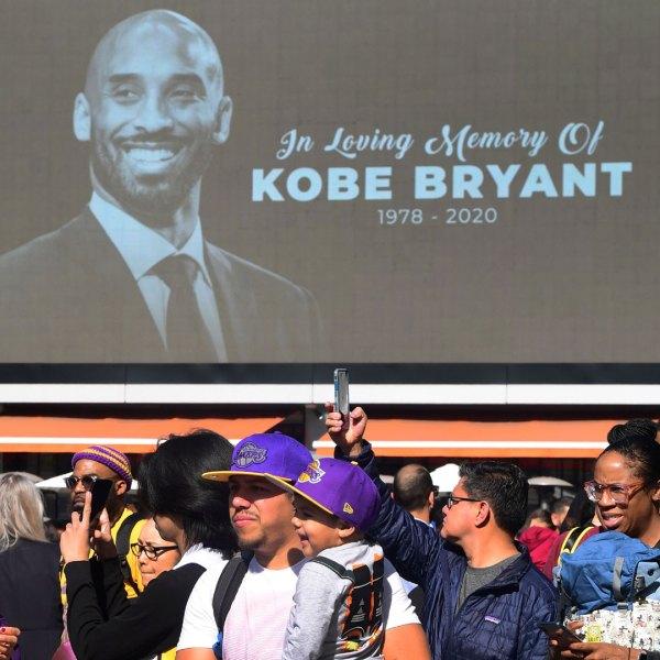 Fans mourn Kobe Bryant