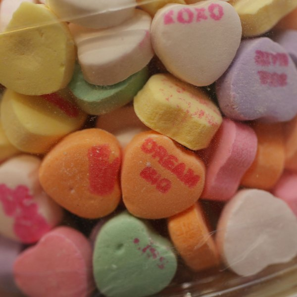 Sweetheart candy hearts
