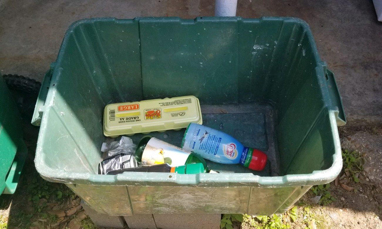 recycle recycling bin