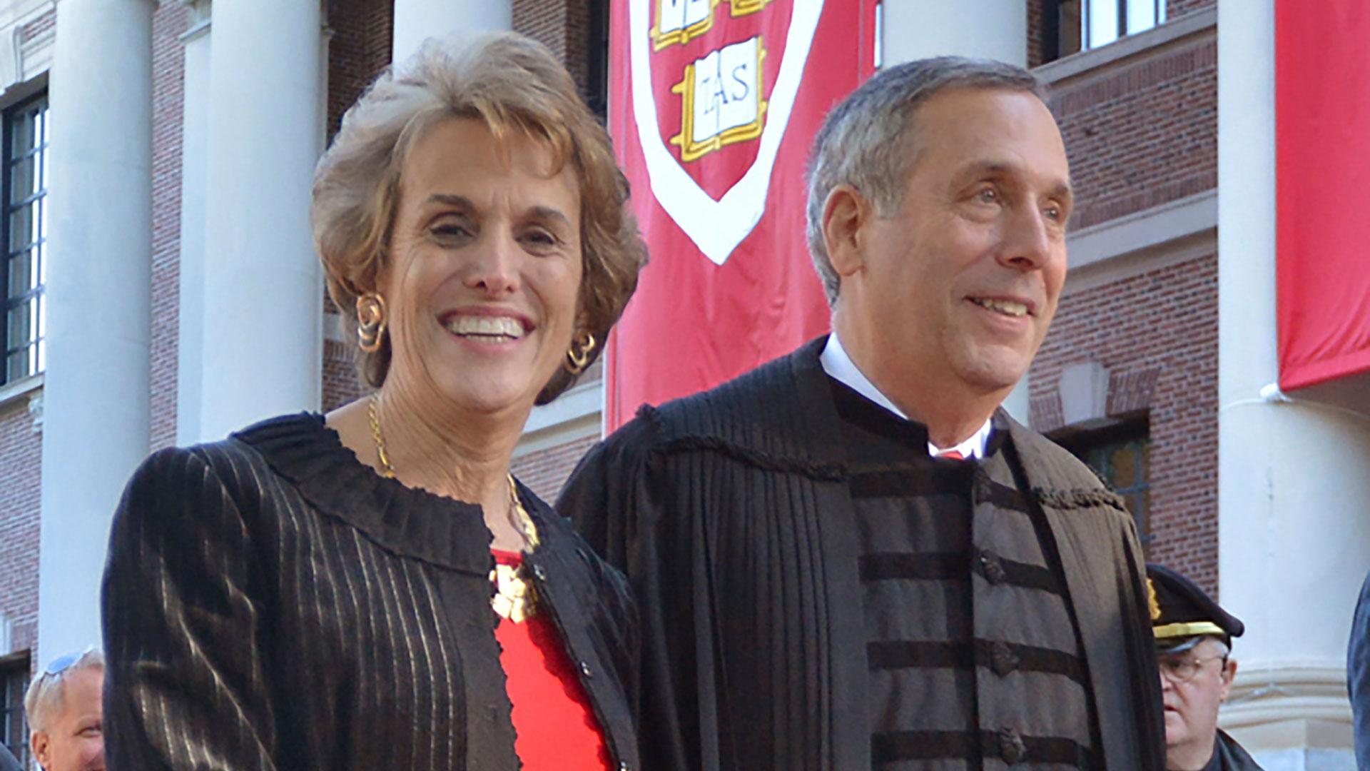 Coronavirus - Harvard president