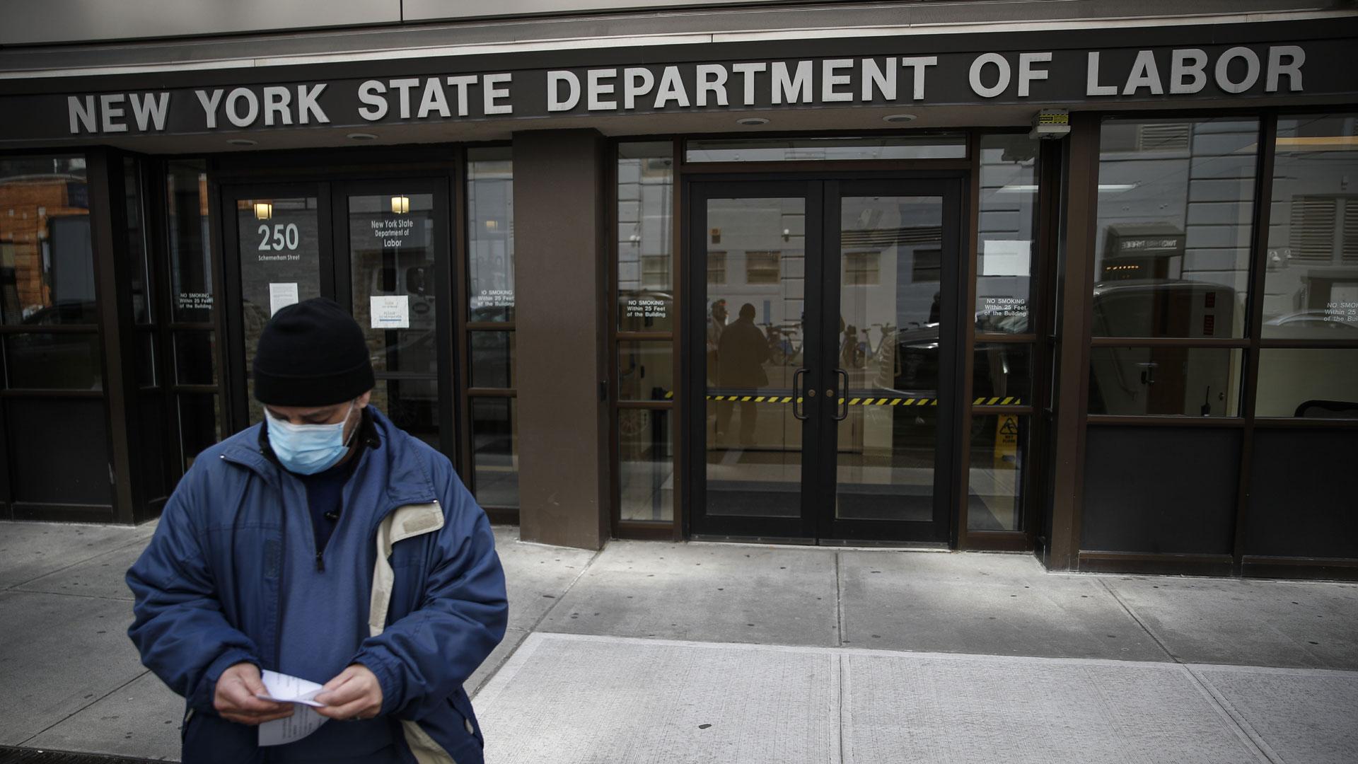 New York Labor Department