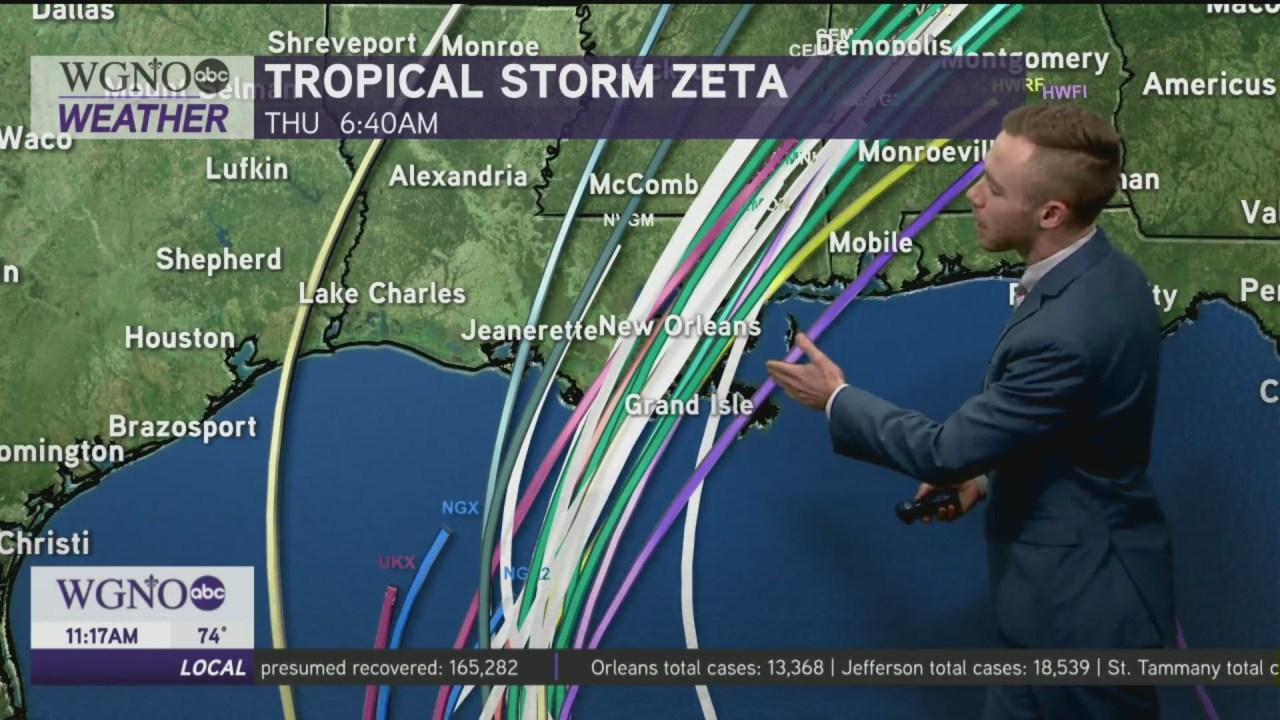 Plaquemines Parish preparing for Tropical Storm Zeta