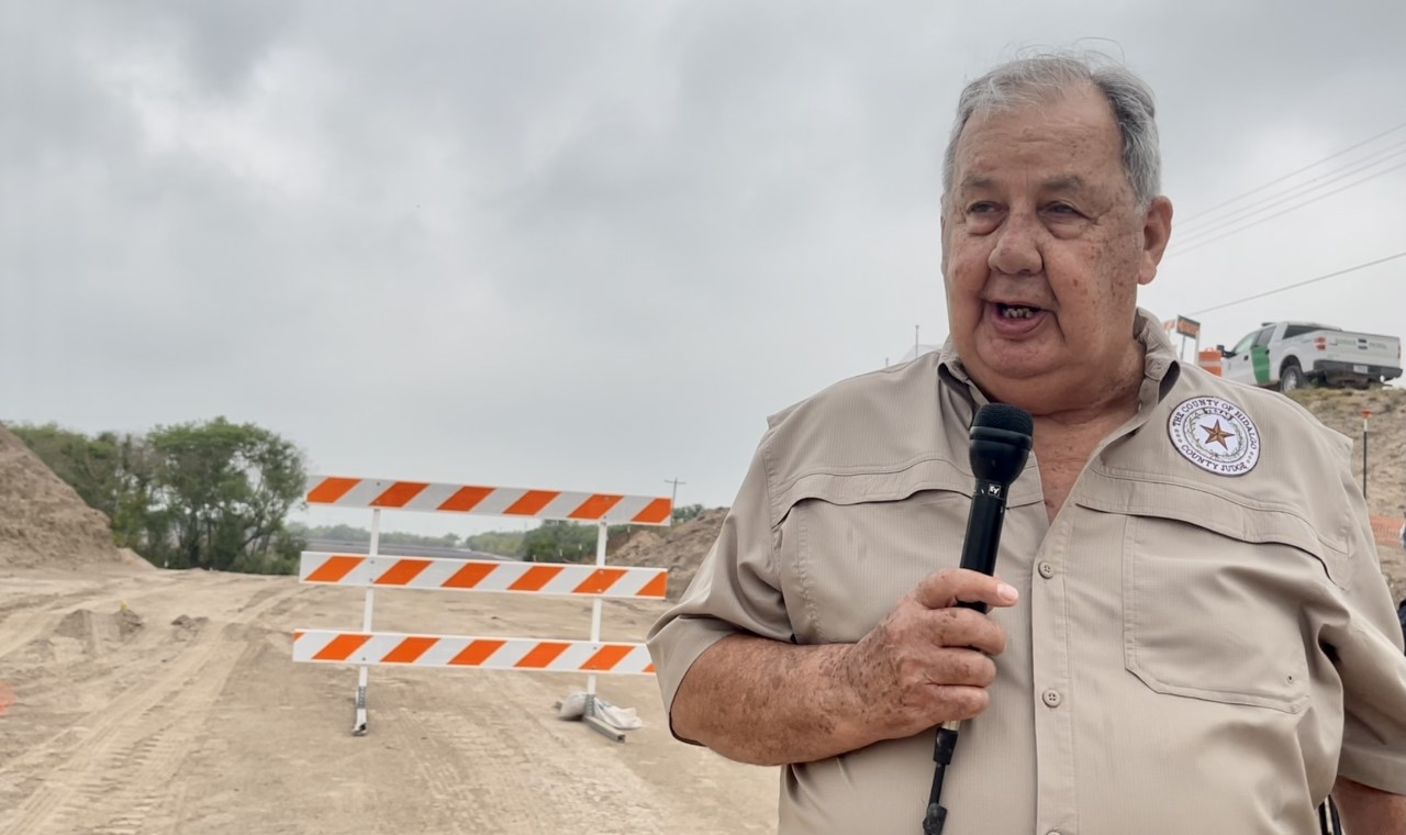 South Texas leaders back county judge's plans to go ahead and fix broken border levees without DHS approval