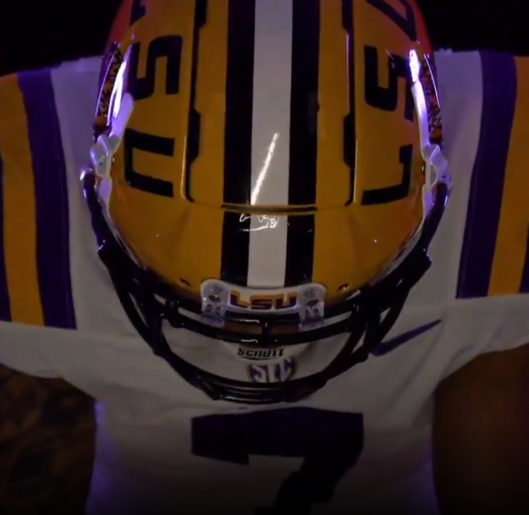 LSU Tiger receives #7 jersey honor for 2021