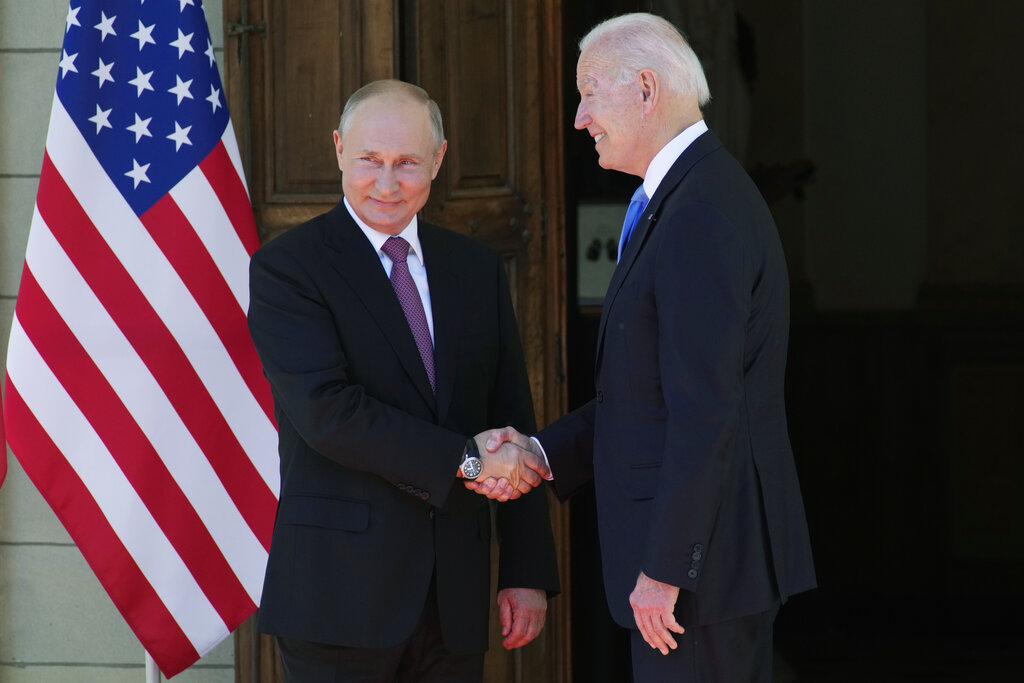 Putin praised Biden, experts say that could mean he's rattled