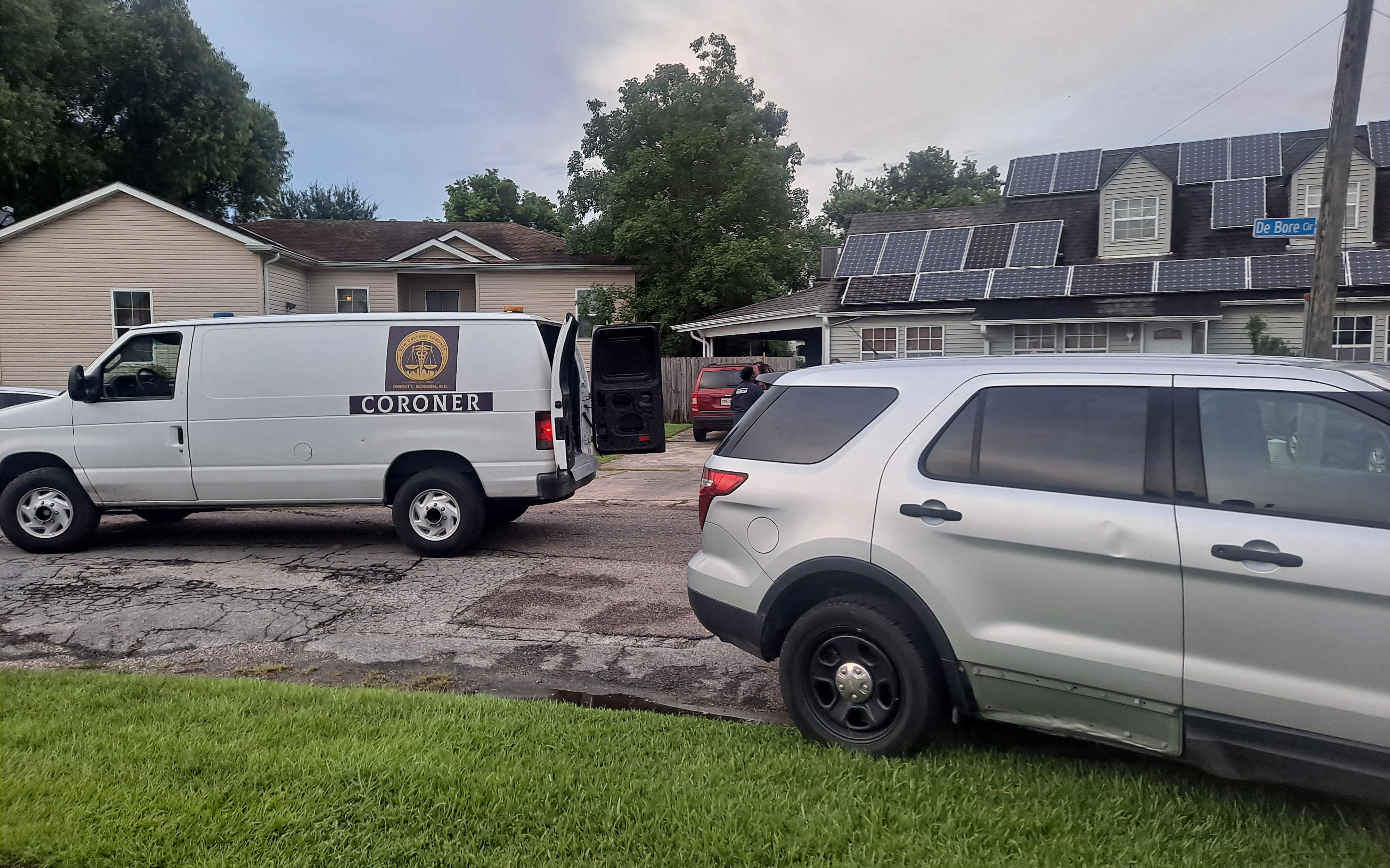 Homicide by cutting in Gentilly Woods
