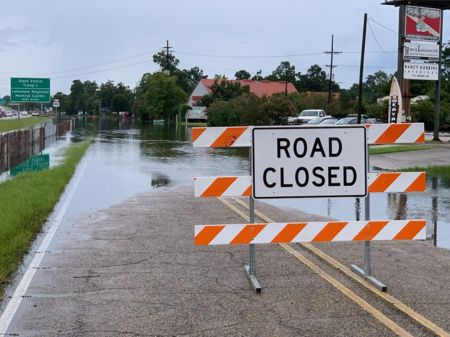 Flooding on the N. Causeway approach