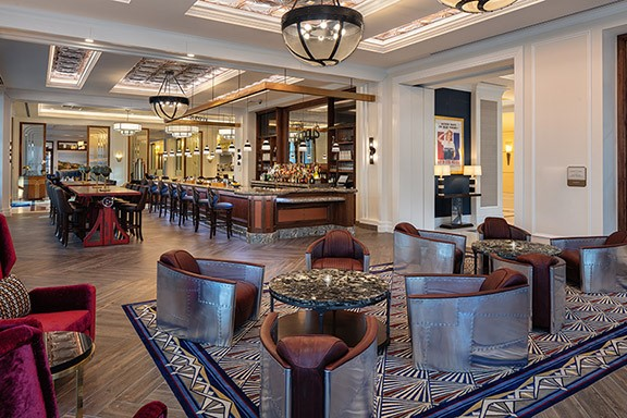 Now open! Kilroy's Bar at the Higgins Hotel