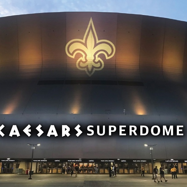 Caesars Superdome renderings