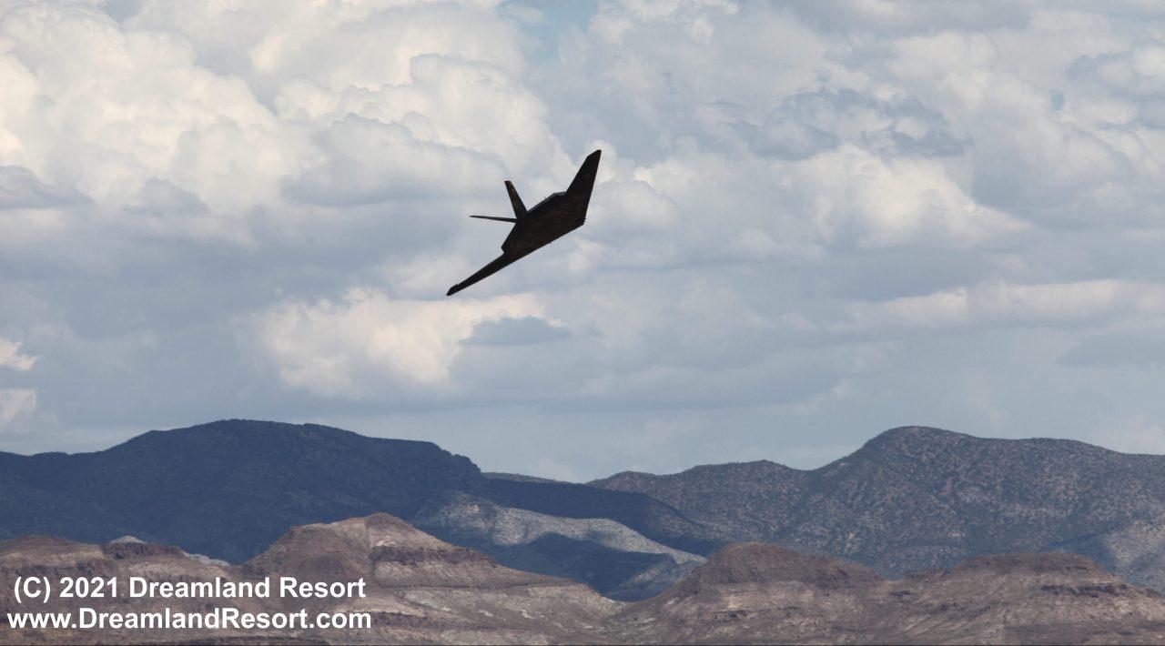 F-117 Nighthawks photographed heading toward Area 51