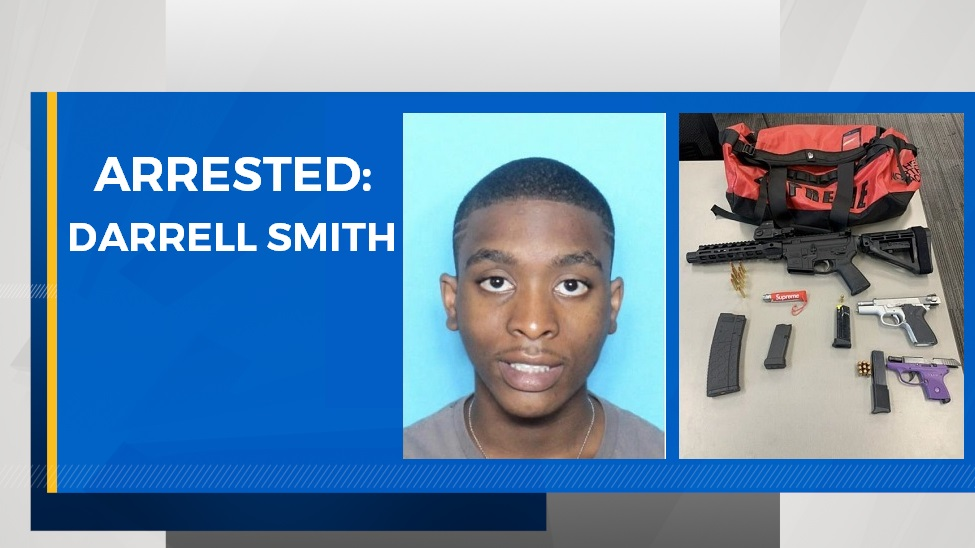 Darrell Smith arrested for alleged involvement in armed robbery