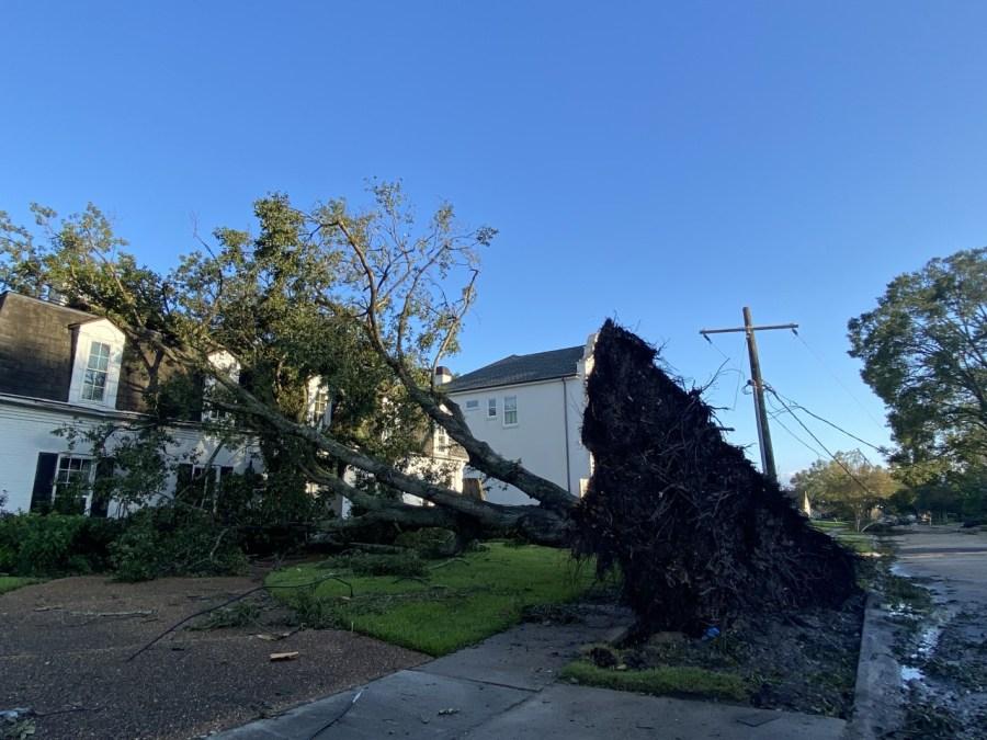 Jefferson parish storm damage