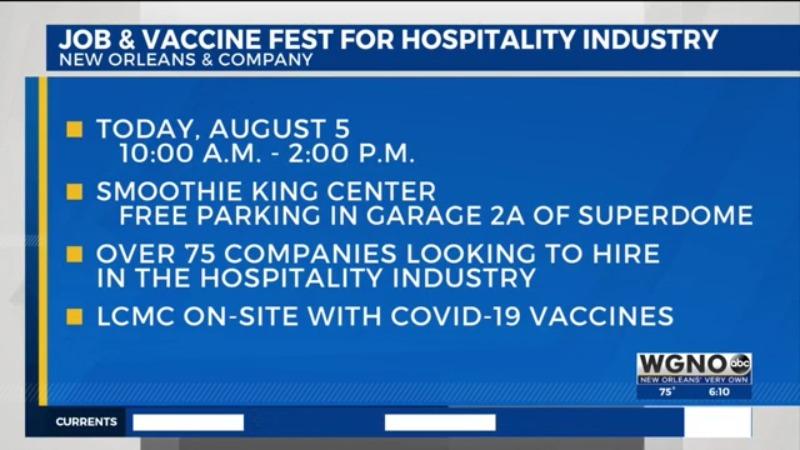 NOLA Job & Vaccine Fest