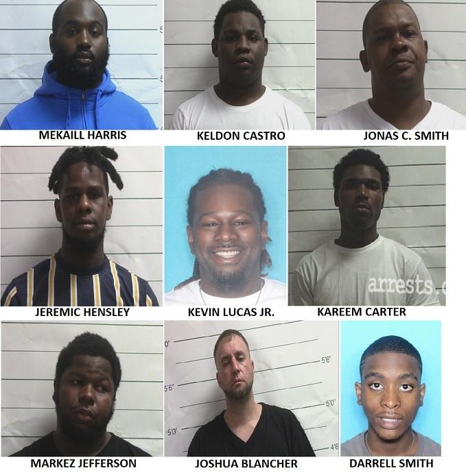 NOPD significant arrests August 1-7, 2021