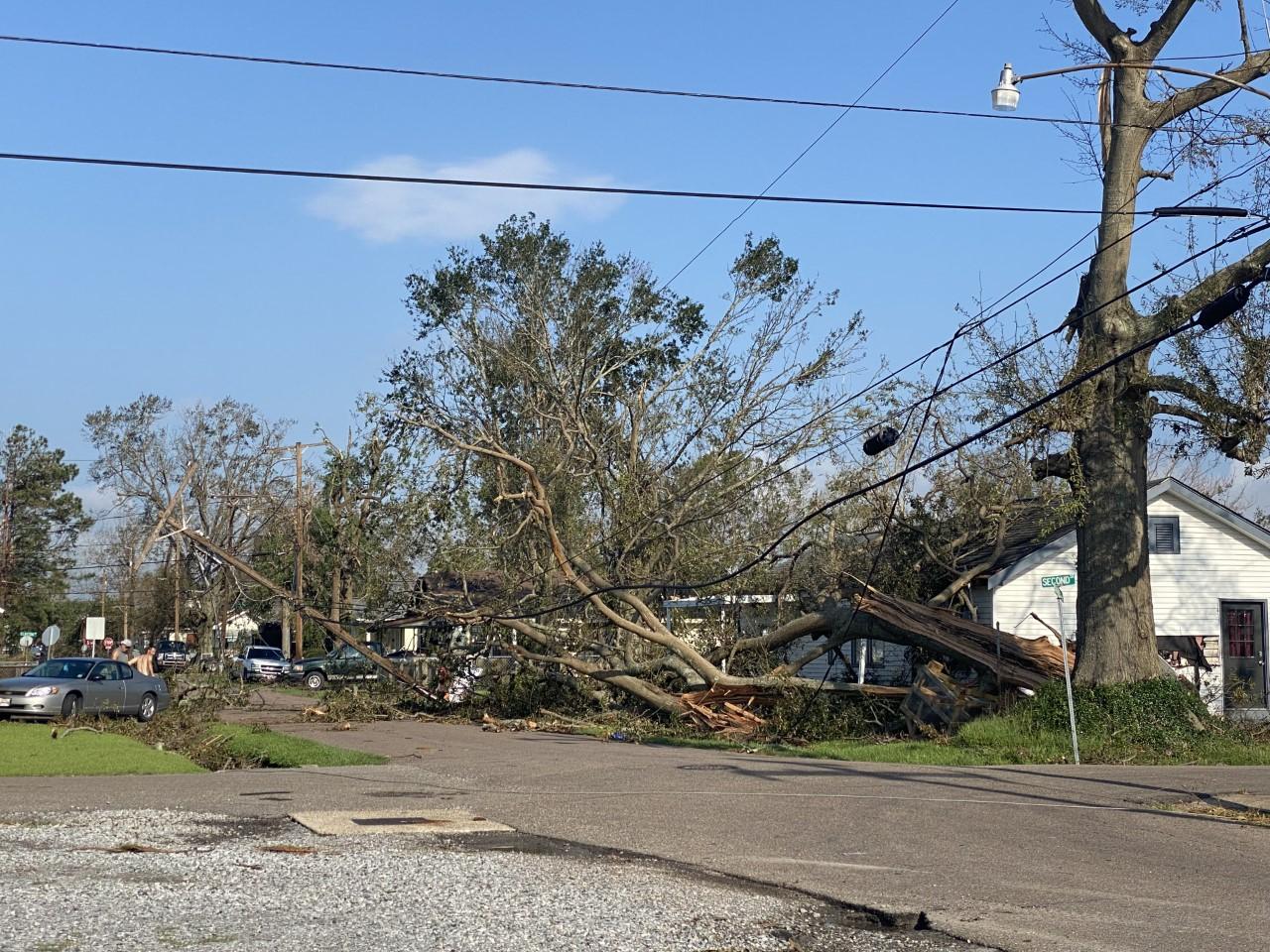 Norco storm damage