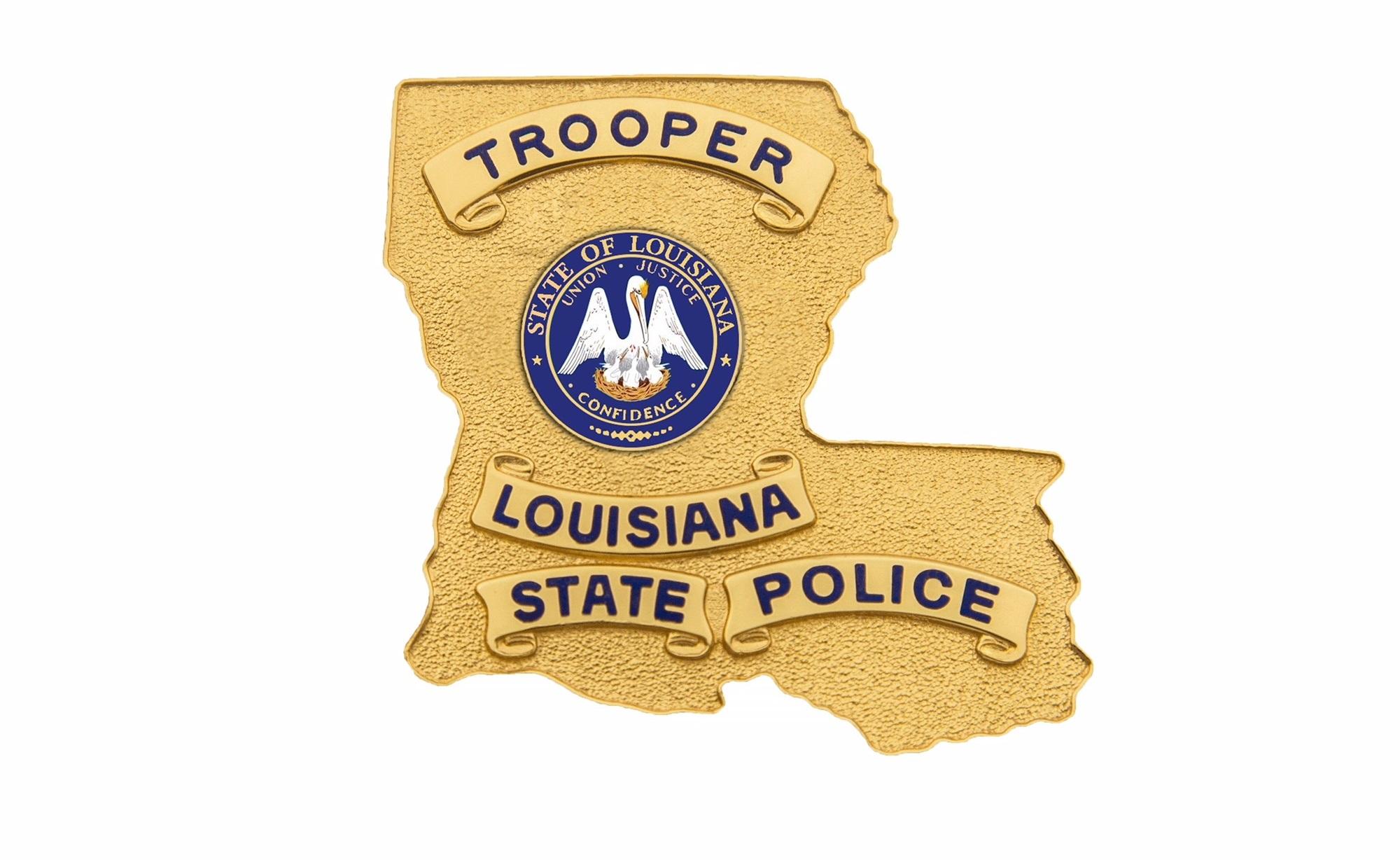 Louisiana State Police Badge