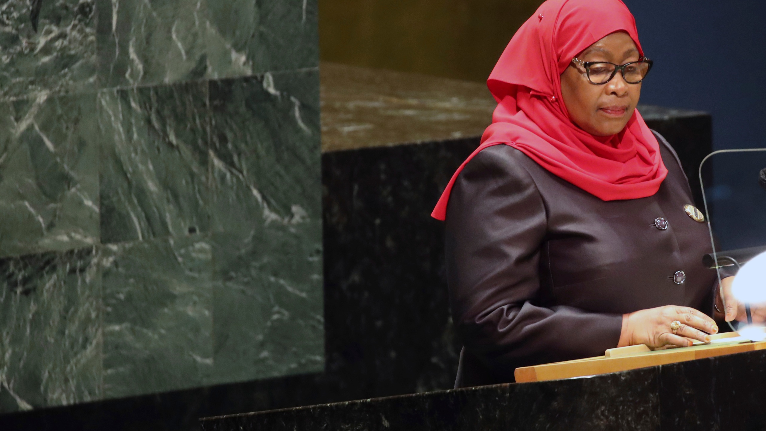 Samia Suluhu Hassan, Annual United Nations General Assembly Brings World Leaders Together In Person, And Virtually