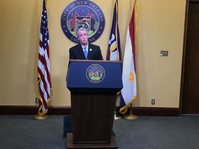 Beau Tidwell - City of New Orleans Weekly Press Briefing