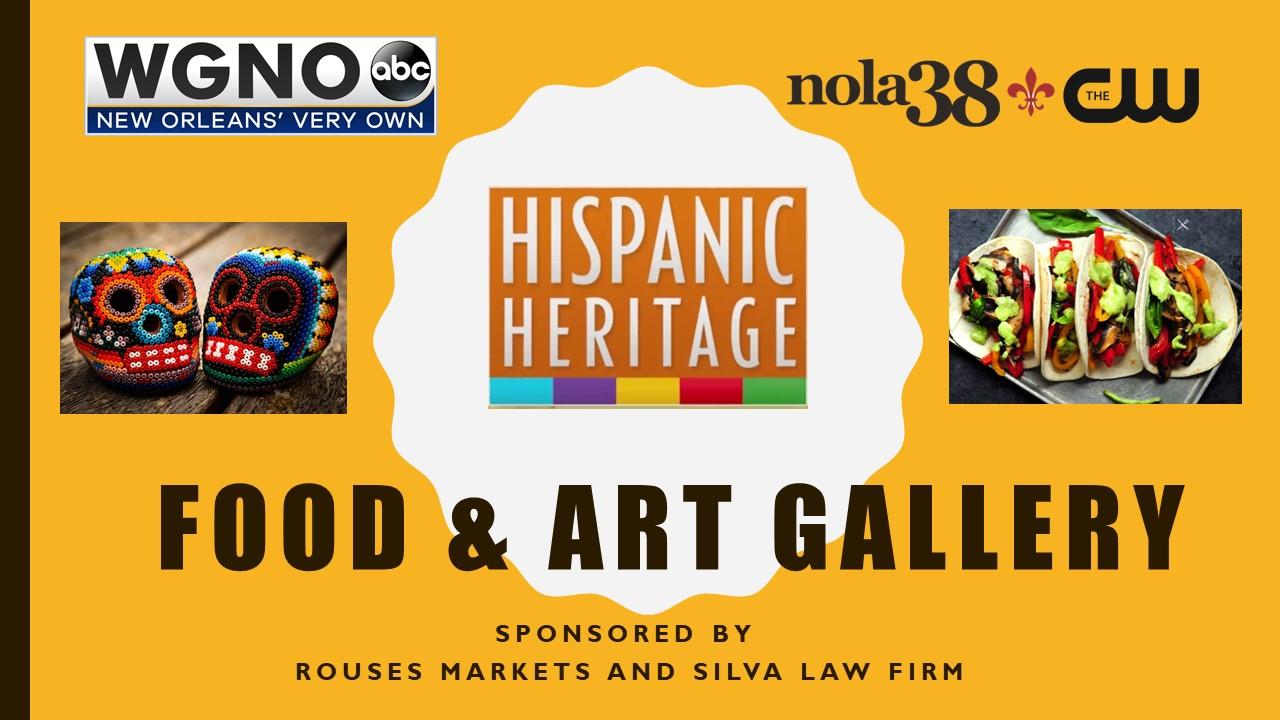 WGNO Hispanic Art and Food Gallery