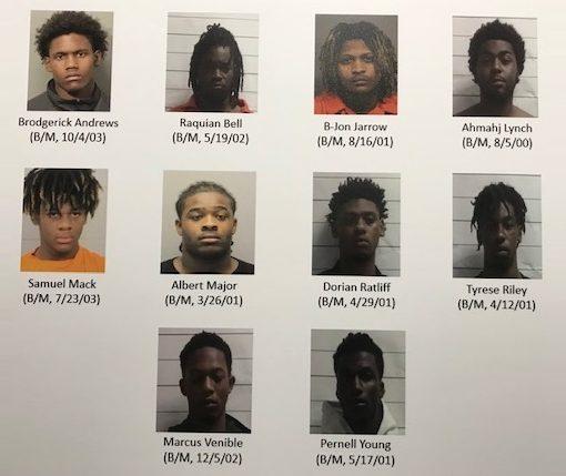 10 men indicted in murder of Todriana Peters