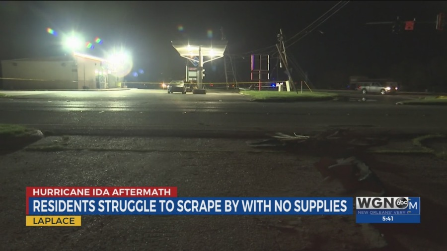 LaPlace resident struggle without supplies
