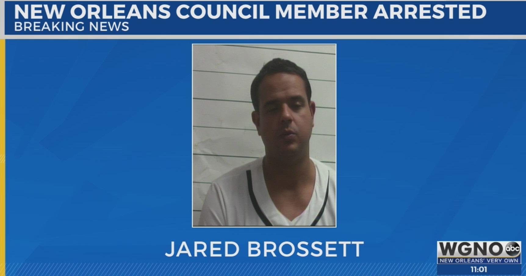 Councilman Jared Brossett arrested