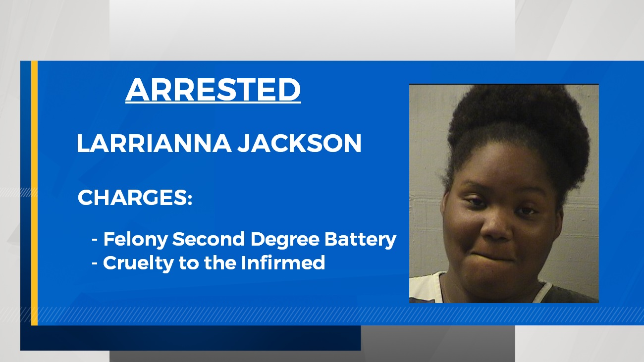 Larrianna Jackson charged in attack on teacher